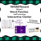 SMARTboard Short I Word Families Picture Sorting/Writing S