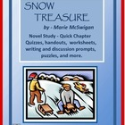 SNOW TREASURE Novel Study - Quick Quizzes and Activities