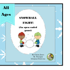 OPEN ENDED GAME- SNOWBALL FIGHT!