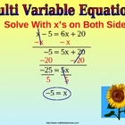 SOLVE EQUATIONS WITH  DISTRIBUTIVE PROPERTY a Ppt Presentation