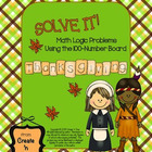SOLVE IT! Thanksgiving Math Logic Problems Using the 100-n