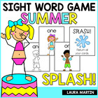 SPLASH! A Summer Sight Word Game