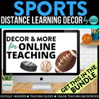 SPORTS THEME CLIP CHART / BEHAVIOR PLAN-classroom theme {p