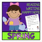 SPRING Sight Words and Fluency Activities -1st Grade - ali