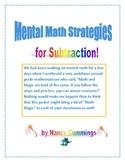 SPRING into Mental Math Strategies with Subtraction!