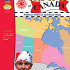 Outline Maps of Canada: Grades 4-8
