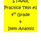 STAAR Math Practice Test 4th Grade