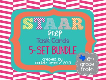 STAAR Prep Task Card BUNDLE - Grade 6