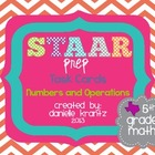 STAAR Prep Task Cards - Numbers and Operations - Grade 5
