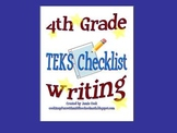 STAAR Writing TEKS Checklist (4th Grade)
