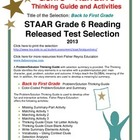 STAAR Released Item: Back to First Grade, Narrative Prob/S