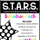 S.T.A.R.S. Behavior Pack {2014-2015}