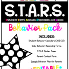S.T.A.R. Behavior Packet (Now Editable!)