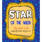 STAR of the Week K-2