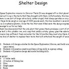 STEM Engineering - Shelter Project