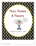 STEM: Inquiry based Moon Phases & Planets: Vocab*Games*Lab