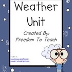 STEM: WEATHER Unit*Lesson Plans*Projects*Game*Study Guide*