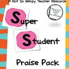 SUPER STUDENT PRAISE PACK (student rewards/ motivational r