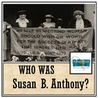 SUSAN B. ANTHONY: Famous American Mini Unit