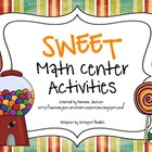 *SWEET* Math Center Activities