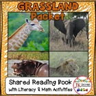 Safari Animals! 1-2, A Safari For You! Shared Reading Book {CCSS}