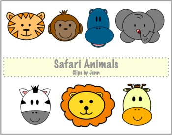 Safari Animals Freebie {Graphics for Personal & Commercial Use}