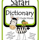 Safari Dictionary (Guide Words) Study Skills