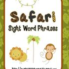 Safari Sight Word Phrases