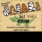 """Safari Snap""  2nd Grade Dolch Sight Words"