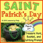 saint patrick's day leprechaun's treasure hunt