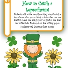 Saint Patrick's Day Writing