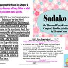 Sakako and the Thousand Paper Cranes Chapter 2 Activities