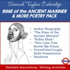 Samuel Taylor Coleridge Poetry Pack