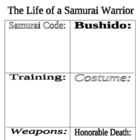 Samurai Life - Worksheet