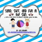 Sand Surf and Fun in the Sun Paragraph Writing