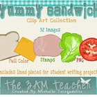 Sandwich Clip Art Collection