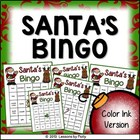 Santa Bingo Color Version