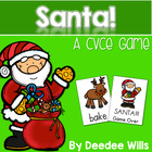 Santa!!! CVCe Memory Match and Game