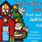 Santa Goes To School Print And Run Printables!