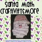 "Santa Math Craft and math ""skills"" color printables- {A Sa"