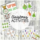 Santa Math and Literacy Pack : 13 Printable Activities