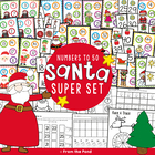 Christmas - Santa Super Set - 5 Number Games