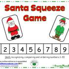 Santa Squeeze Number Game