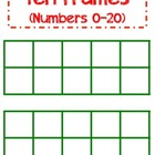 Santa Ten Frames (1-20) - Aligned with Common Core Standards