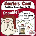 Santa's Coal - Addition Game