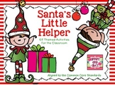 Santa's Little Helper in Kindergarten