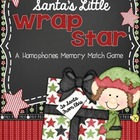 Santa's Little Wrap Star {A Homophone Freebie}