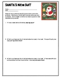 Santa's New Suit: Multiplication and Division Problems