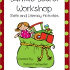 Santa's Secret Workshop Math & Literacy Activities