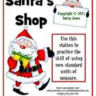 Santa's Shop - Non-Standard Measurement